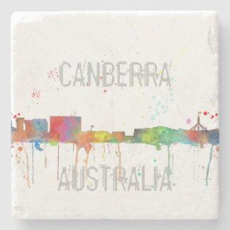 CANBERRA, ACT AUSTRALIA SKYLINE STONE COASTER