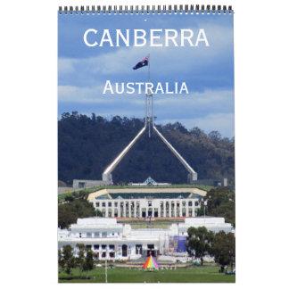 canberra australia wall calendar