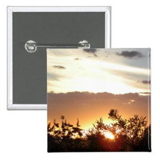 Canberra Sunset 15 Cm Square Badge