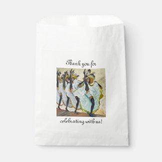 Cancan Dancers Favour Bag