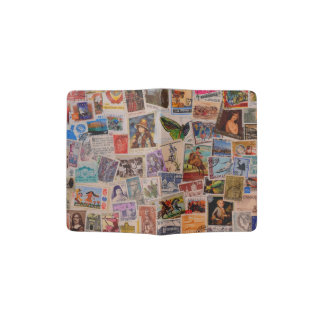 Canceled World Stamps - Designer passport