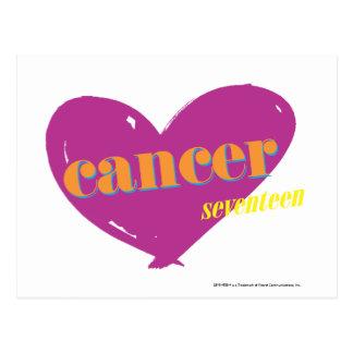 Cancer 2 postcard