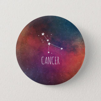 Cancer Astrology 6 Cm Round Badge