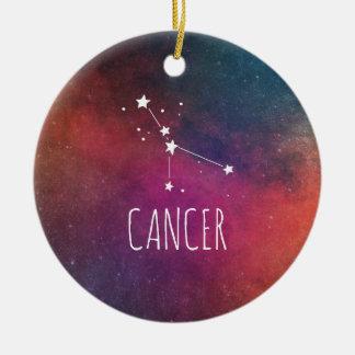 Cancer Astrology Round Ceramic Decoration