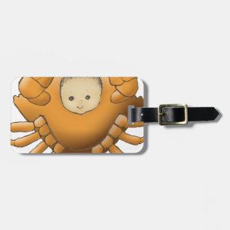 Cancer AstrologyBaby - medium skin - Luggage Tag