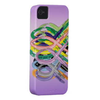 Cancer Awareness iPhone Case iPhone 4 Cover