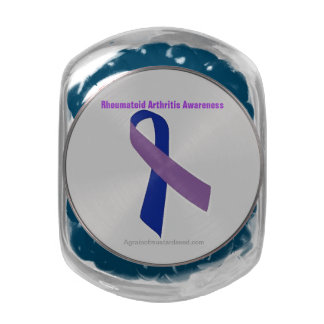 Cancer Awareness Jelly Belly Candy Jars