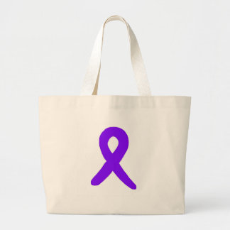 Cancer awareness large tote bag