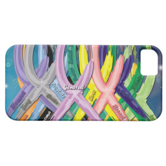 Cancer Awareness Ribbons iPhone 5/5S Covers