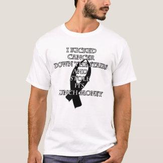 Cancer Bully (Black Ribbon) T-Shirt