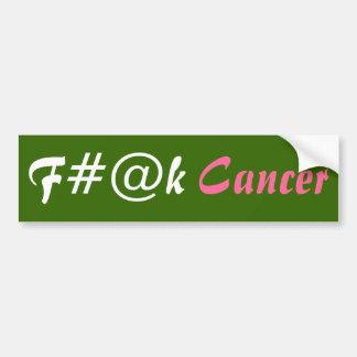 Cancer Car Bumper Sticker