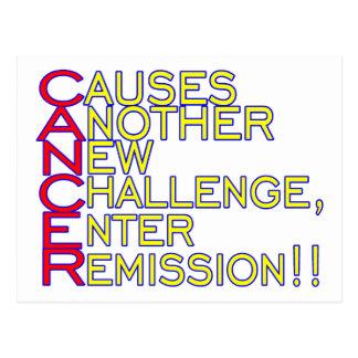 Cancer Causes Postcard