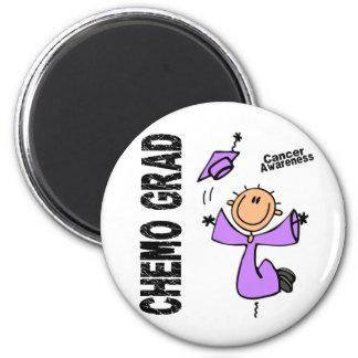 Cancer CHEMO GRAD 1 Fridge Magnet