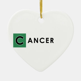 CANCER COLOR CERAMIC ORNAMENT