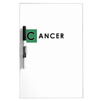 CANCER COLOR Dry-Erase BOARDS