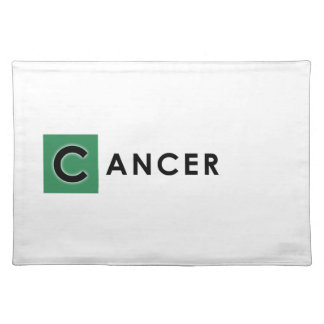 CANCER COLOR PLACEMAT