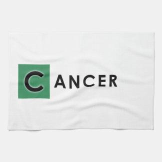 CANCER COLOR TEA TOWEL