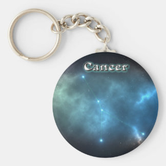 Cancer constellation key ring