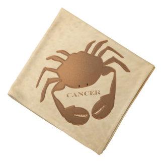 Cancer Crab Zodiac Bandana