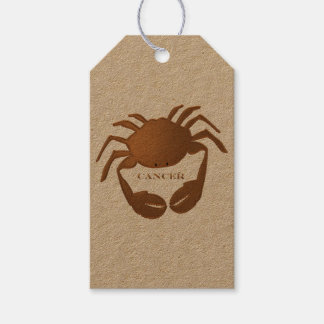 Cancer Crab Zodiac Gift Tags