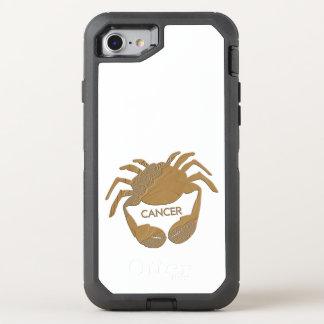 Cancer Crab Zodiac OtterBox Defender iPhone 8/7 Case