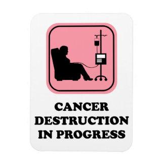 Cancer Destruction in progress magnet