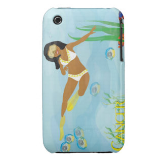 Cancer Diving iPhone 3 Covers