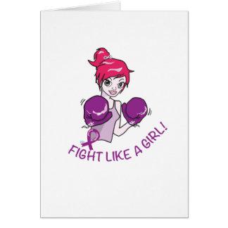 CANCER FIGHT-CAREGIVERS CARD