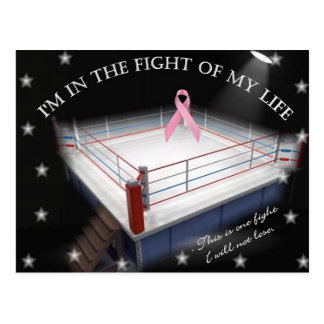 Cancer Fight Postcard