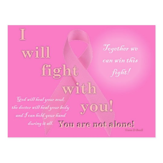 Cancer Fight Postcard