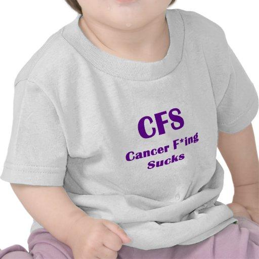 Cancer Freaking Sucks CFS Tees