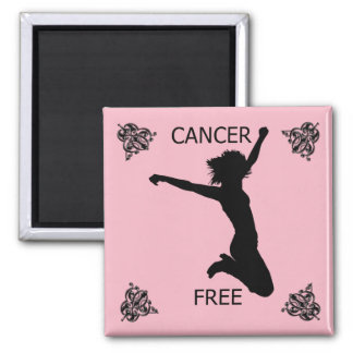 CANCER FREE MAGNET