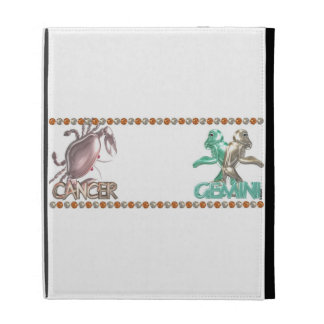 Cancer Gemini astrology friendship iPad Cases