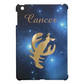 Cancer golden sign iPad mini cover