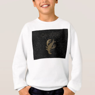 Cancer golden sign sweatshirt