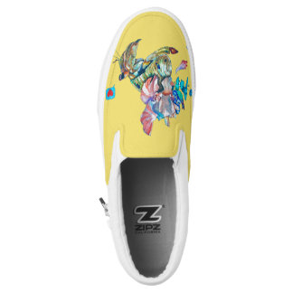 Cancer hermit Slip-On shoes