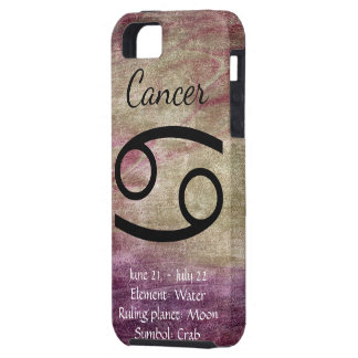 Cancer Horoscope Sign Zodiac Symbol Phone Case