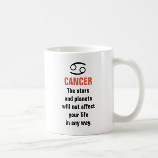 Cancer Horoscope - The stars and planets will not Coffee Mug