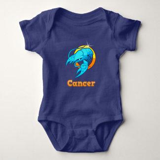 Cancer illustration baby bodysuit