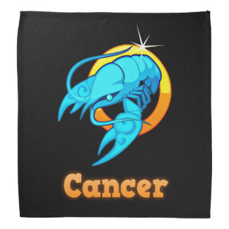 Cancer illustration bandana