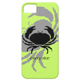 Cancer in black iPhone 5 covers