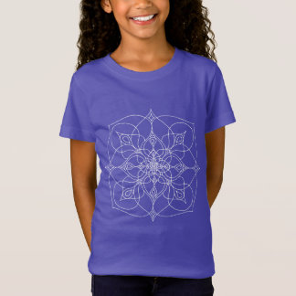 Cancer Mandala Shirt: White T-Shirt