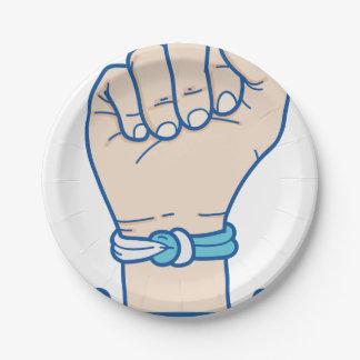 cancer men bracelet-01 7 inch paper plate
