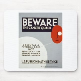 Cancer Quack Mouse Pad