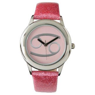 cancer - silver watch