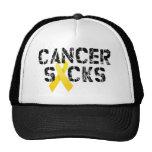 Cancer Sucks - Childhood Cancer Ribbon Cap