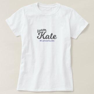 Cancer Sucks - TeamKate T-Shirt
