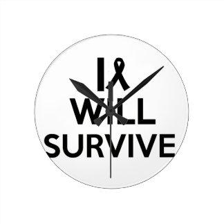 cancer survive round clock
