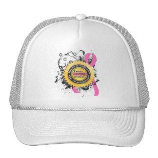 Cancer Survivor 23 Breast Cancer Trucker Hat