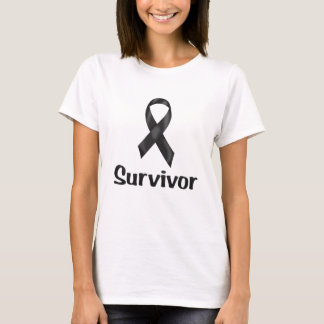 Cancer Survivor Black T-Shirt